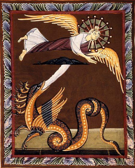 """""""Lejos del Dragón"""" Ap .12.14 - Apocalipsis de Bamberg"""