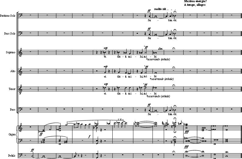 """Juscheld - Oratorio Apocalypsis Iesu: """"Y me dijo, Hecho Esta!"""" Apo 21: 6"""
