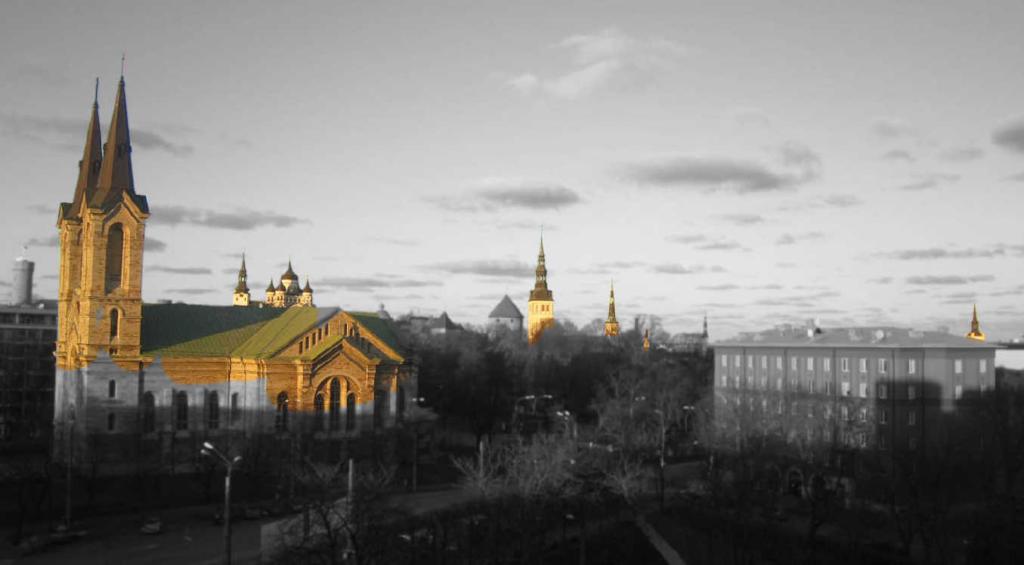 View of the Seven Churches, Tallinn, Estonia