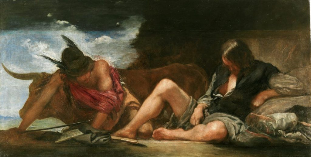 Hermes y Argos - Velazquez