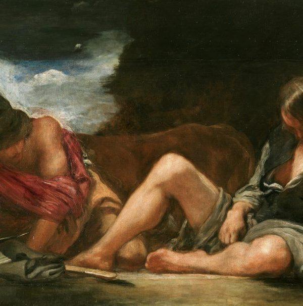 Fábula de Mercurio y Argos - Velazquez